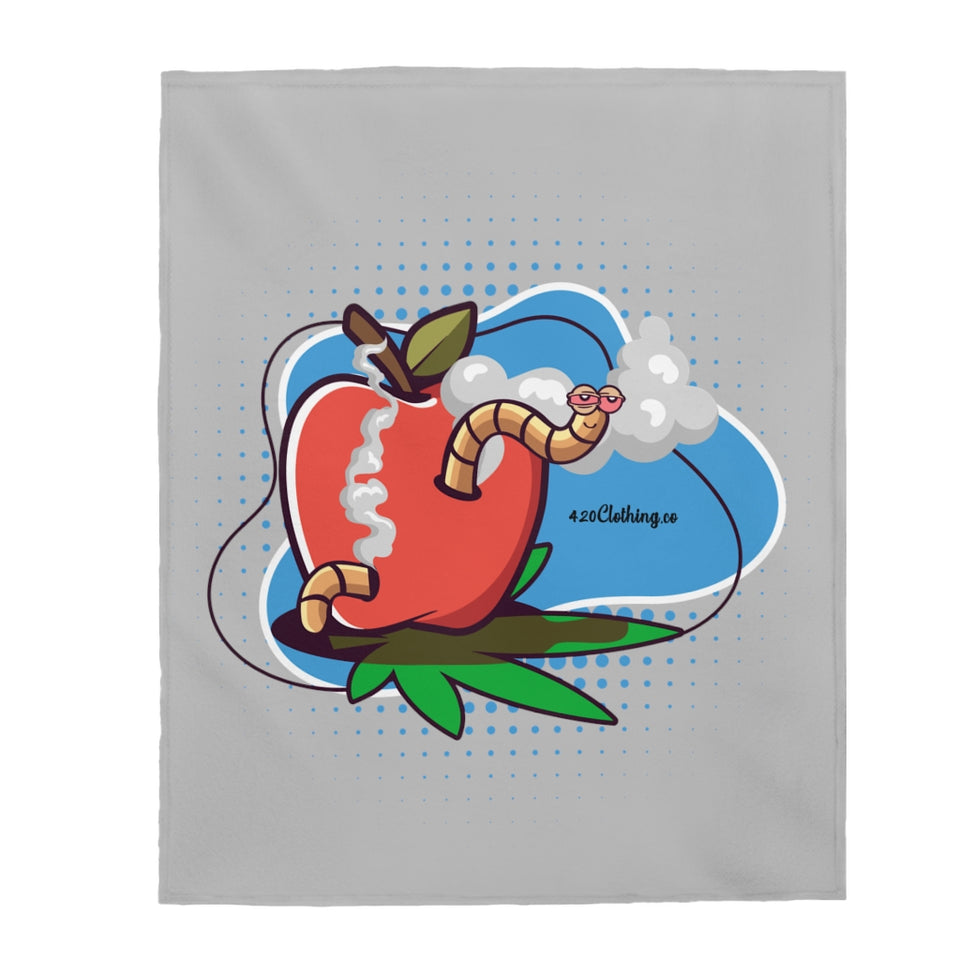 Worm Highh Plush Blanket