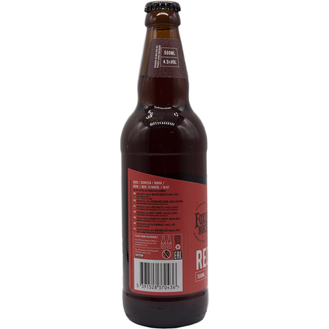 FOXI ROCK - RED ALE 12X 500 ML