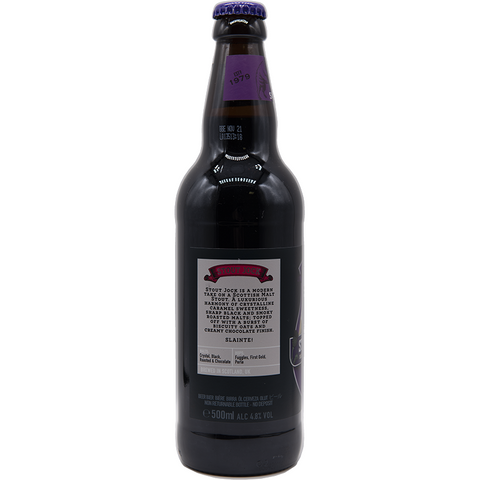BROUGHTON - MLSTOUT JOCK -  Bottiglia 500ML - The Corner Restaurant Caffè
