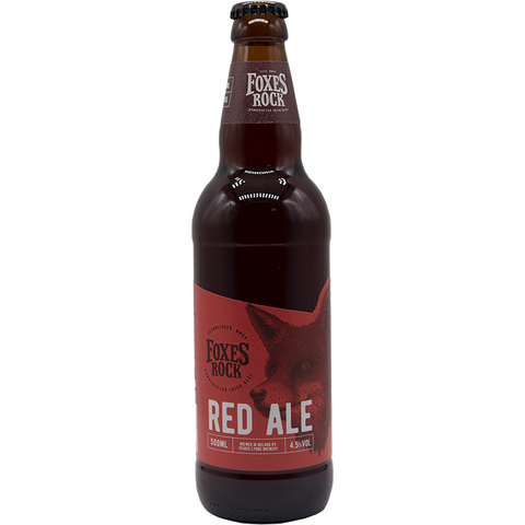 FOXI ROCK - RED ALE - Bottiglia 500 ML - The Corner Restaurant Caffè