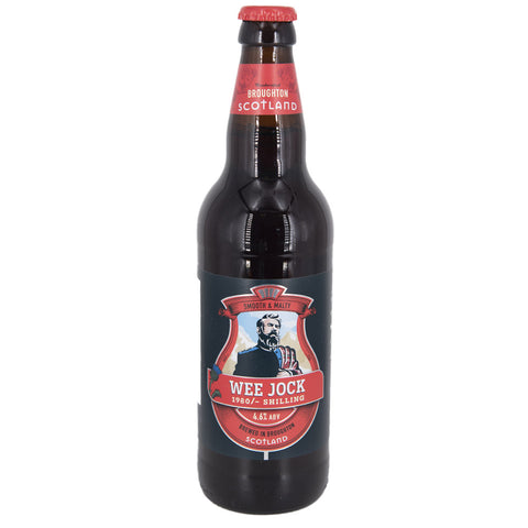 BROUGHTON - WEE JOCK ALE CARTONI 8 X 500 ML - The Corner Restaurant Caffè