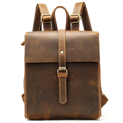 Ragadda Vintage Leather Backpack