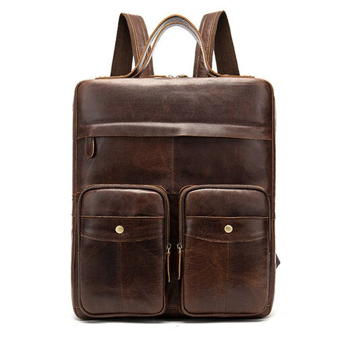 The Professional Leather Backpack