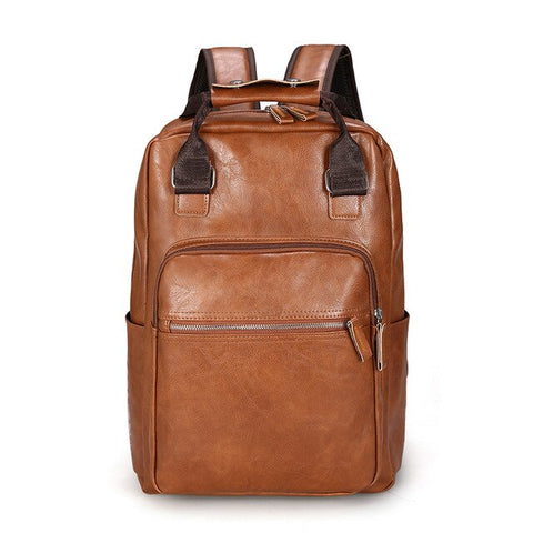 Loäc Faux Leather Backpack