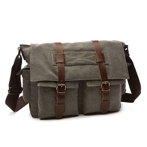 Cearbhall Canvas Messenger Bag