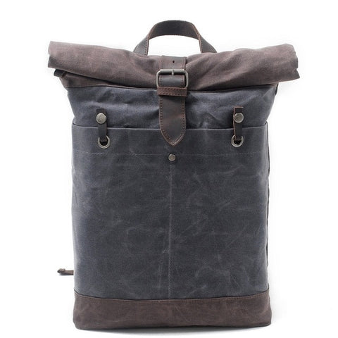 The Wise Canvas Backpack