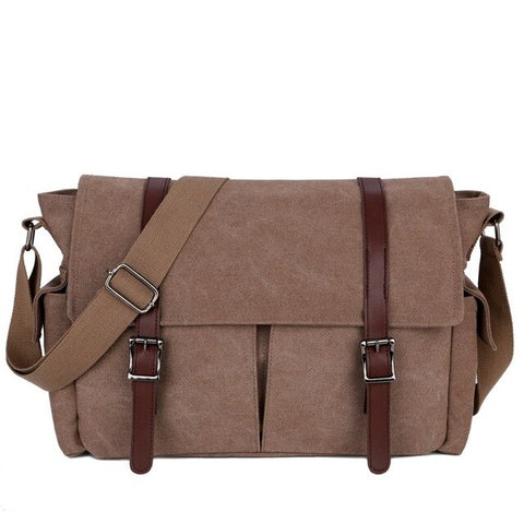 Gilleagán Canvas Messenger Bag