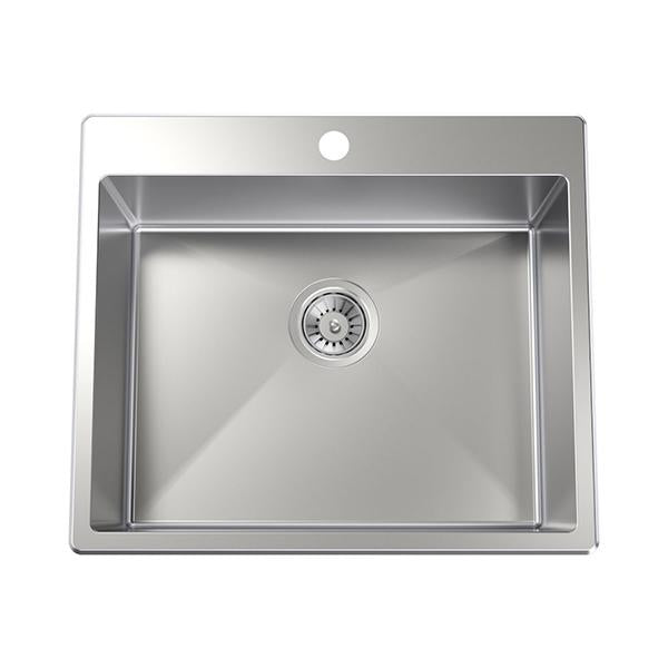 Clark Square 45L Laundry Sink with one taphole at Bathroom Warehouse