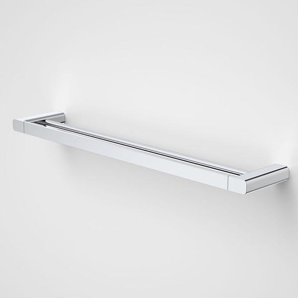 Caroma Contemporary Luna Double Towel Rail by Caroma | Bathroom Warehouse