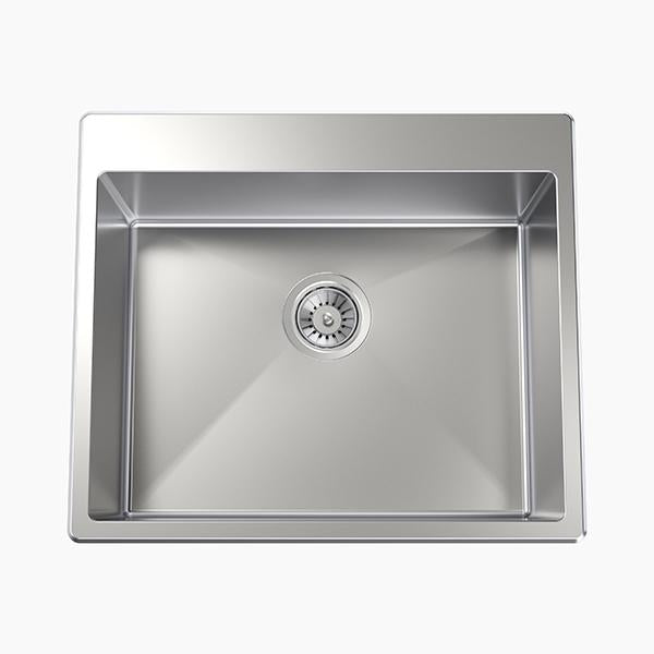 Clark Square 45L Laundry Sink with no tapholes at Bathroom Warehouse