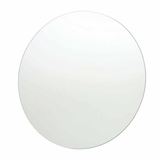 Thermogroup Round Polished Edge Bathroom Mirror at Bathroom Warehouse