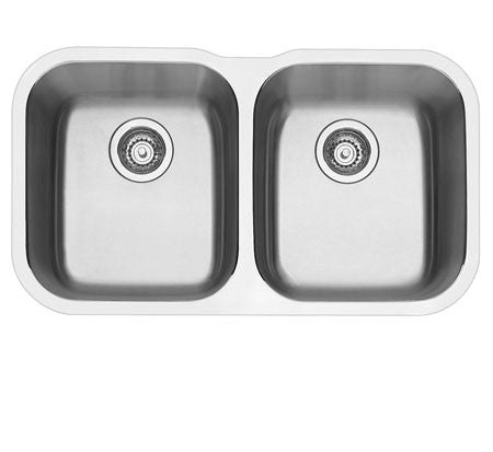 Blanco Essential Double Bowl Undermount Sink - Bathroom Warehouse