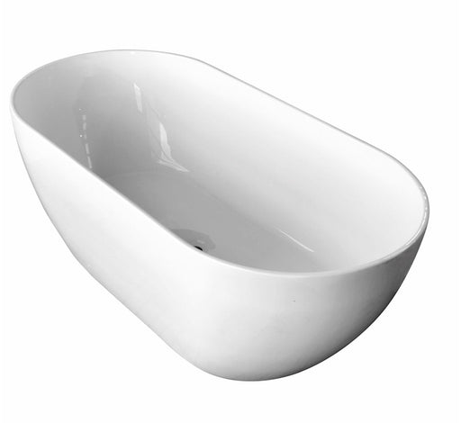 Positano Freestanding Lucite Bath 25yrs WTY -1400  - Bathroom Warehouse