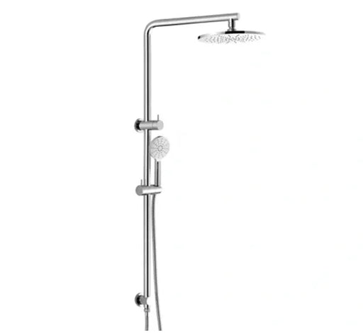 Classic 2 in 1 Twin Shower Top Inlet - Chrome - Bathroom Warehouse