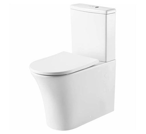 Dublin Back to Wall Rimless Toilet Suite - Bathroom Warehouse