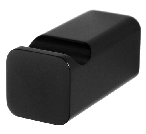 Noble Black Robe Hook Matte Black - Bathroom Warehouse