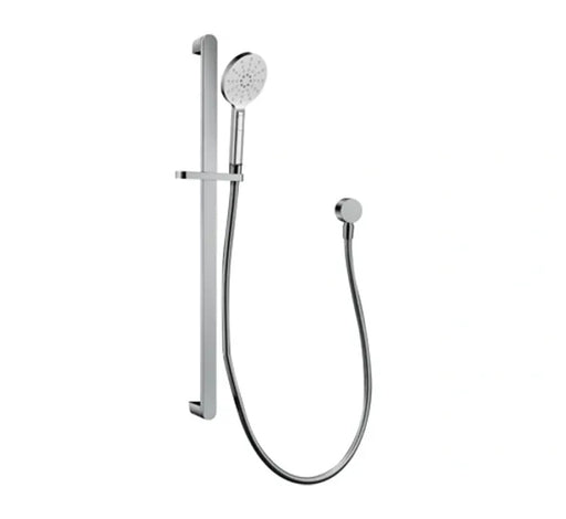 Harmonee Hand Shower On Rail - Chrome - Bathroom Warehouse