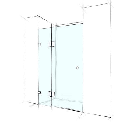 Custom Wall to Wall Shower Screen Frameless - Bathroom Warehouse