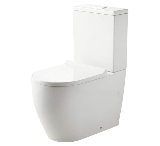 Naples Back to Wall Rimless Toilet Suite - Bathroom Warehouse