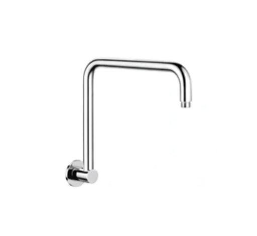 Classic High Rise Shower Arm 350mm Chrome - Bathroom Warehouse