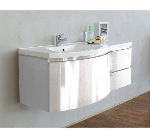 Prospero 1200mm Vanity Wall Hung White - Bathroom Warehouse