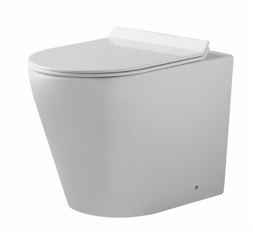 Flay Rimless Nanoglaze Back to Wall Pan - Bathroom Warehouse