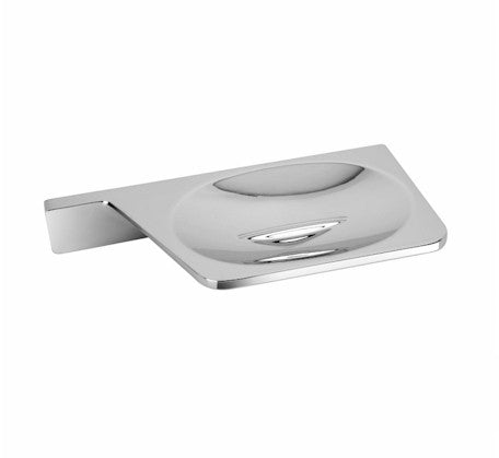 Gina Soap Dish Chrome - Bathroom Warehouse