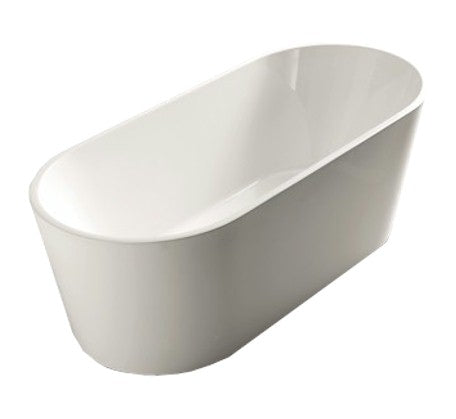 Oval Free Standing Bath 1340/1500/1700 - Bathroom Warehouse