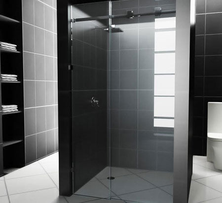 DIY Custom Size Sliding Front Only Shower Screens - Bathroom Warehouse