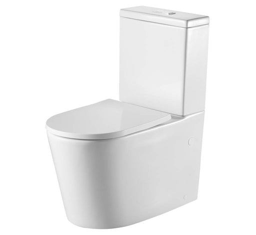 Vienna Back to Wall Rimless Toilet Suite - Bathroom Warehouse