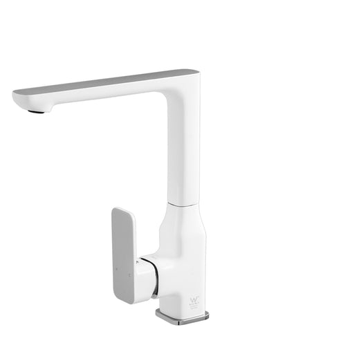 Seto Sink Mixer Chrome/White - Bathroom Warehouse