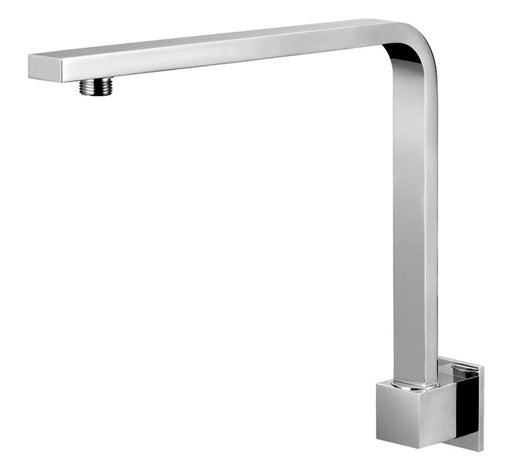 Chao High Rise Shower Arm Square 350mm - Chrome - Bathroom Warehouse