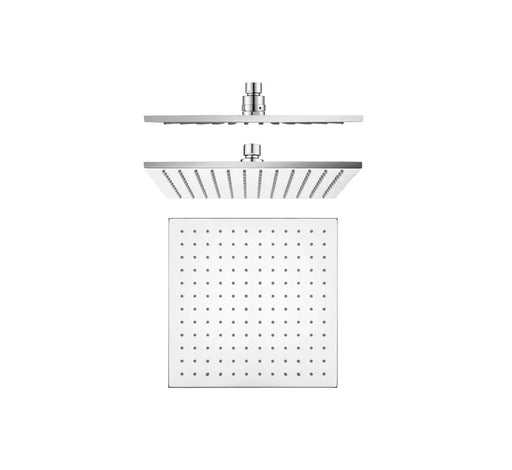 Shower Head Brass 250mm - Chrome - Bathroom Warehouse