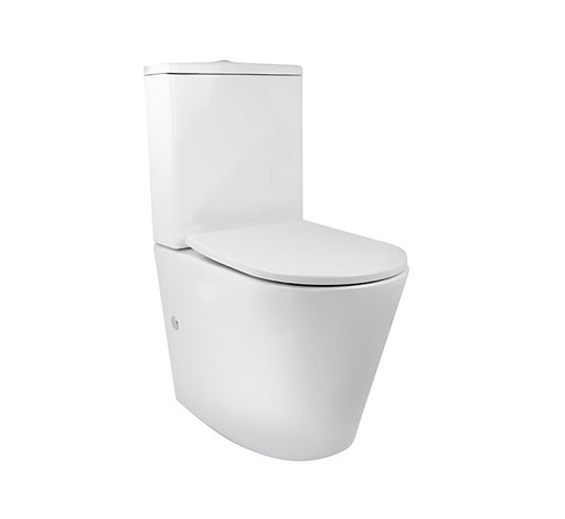 Decina Renee Rimless Wall Faced Toilet Suite - Bathroom Warehouse