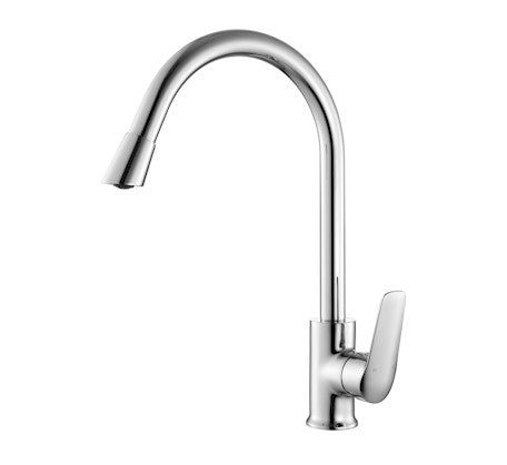 Sulu Kitchen Sink Mixer Chrome  - Bathroom Warehouse