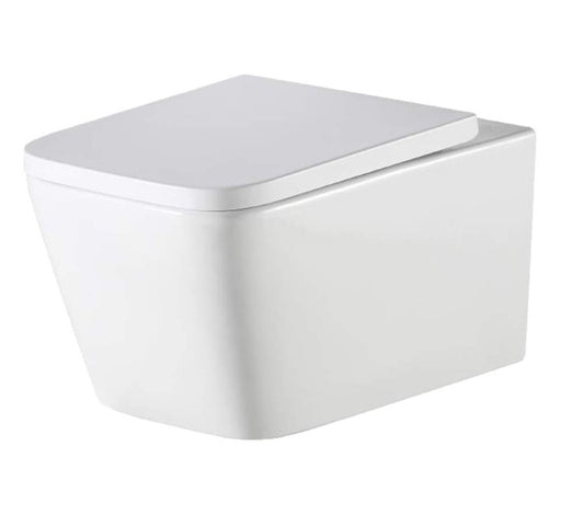 Munich Wall Hung Pan with Seat - Bathroom Warehouse