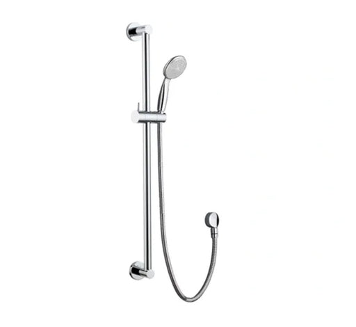 Parker Hand Shower On Rail - Chrome - Bathroom Warehouse