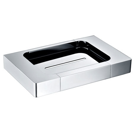 Momento Edge Soap Dish Chrome - Bathroom Warehouse