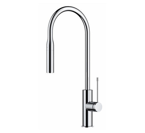 Aziz Pin Handle Pull-out Sink Mixer Chrome - Bathroom Warehouse