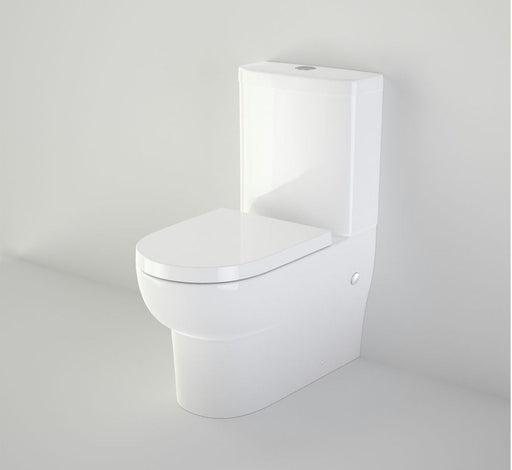 Stylus Banksia Wall Faced Toilet Suite - Back Entry - Bathroom Warehouse