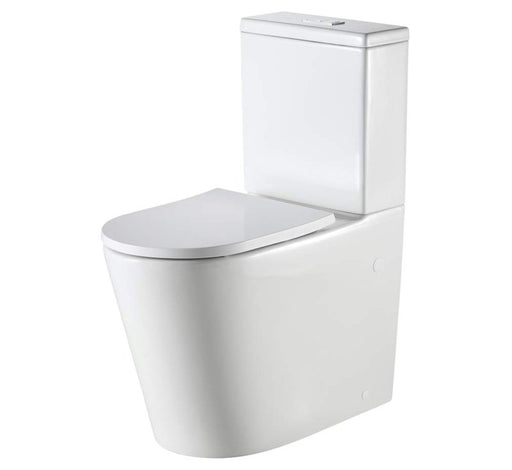 Vienna Comfort Height Back to Wall Rimless Toilet Suite - Bathroom Warehouse