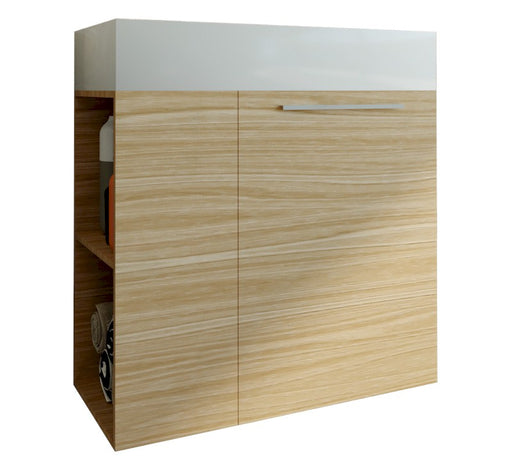 Maria 600mm Wall Hung Vanity Wood Grain - Bathroom Warehouse