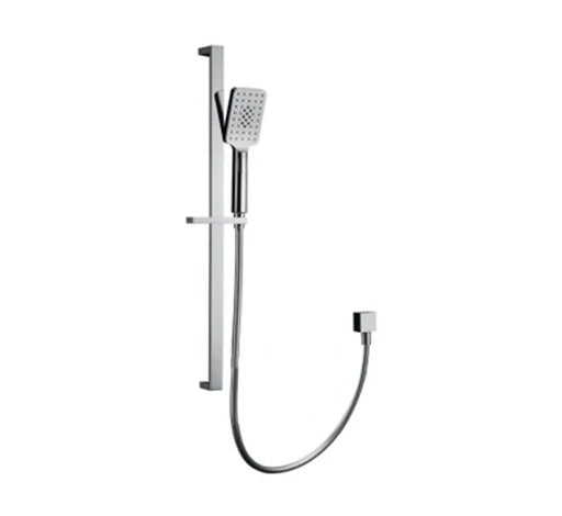 Luxury Hand Shower On Rail - Chrome - Bathroom Warehouse