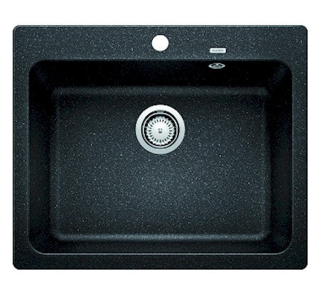 Blanco Naya 43ltr Single Bowl Drop-In Sink - Anthracite - Bathroom Warehouse