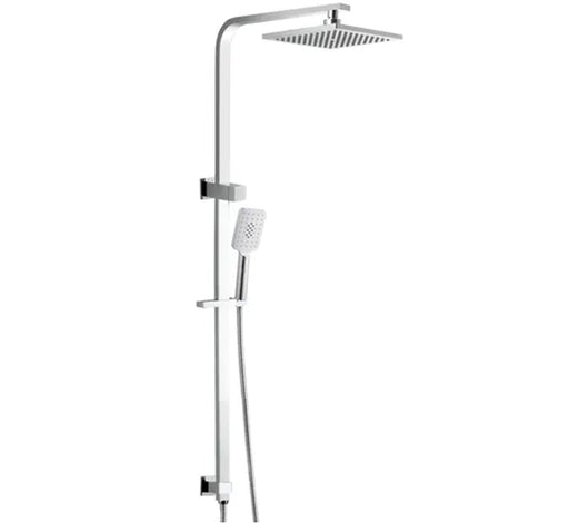 Luxury 2 in 1 Twin Shower Top Inlet - Chrome - Bathroom Warehouse