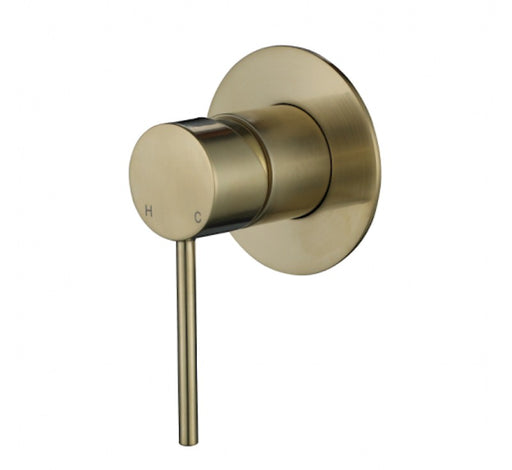 Star Mini Shower Mixer PVD Brushed Bronze - Bathroom Warehouse
