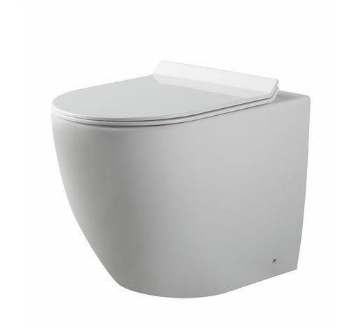 Alexander Rimless Nanoglaze Back to Wall Pan - Bathroom Warehouse