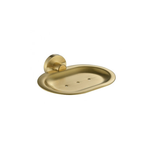 Mirage Soap Dish Brushed Bronze - Bathroom Warehouse