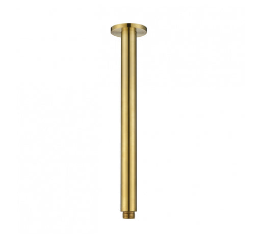 Star Round Ceiling Arm - Brushed Bronze  - Bathroom Warehouse
