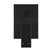 Meir Square Matte Black Wall Mixer with Diverter | Bathroom Warehouse